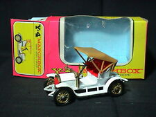 Matchbox Models of Yesteryear Y-4 1909 Opel Coupe. White. Near Mint. Boxed.