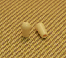 SK-0643-028 (2) Cream Metric Guitar Toggle Switch Tips Epiphone/Imported Guitar