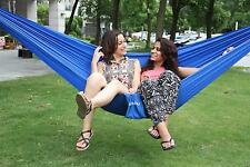 New Travel Camping Outdoor Nylon Fabric Hammock Parachute Bed for Double Person