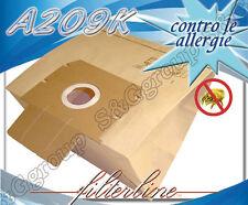 A209K 8 sacchetti filtro carta x Alfatec Eurocompact EC 20