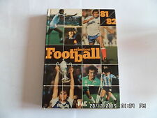 LIVRE FOOTBALL SELECTION 81/82 EDITIONS PAC     I105