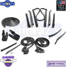 1968 1969 Camaro Firebird Weatherstrip Seal Kit Convertible 14 Pieces Metro New