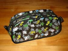 Final Fantasy series Chocobo and Cactuar print pencil case/make-up bag official