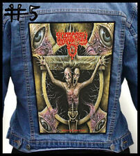 HYPOCRISY  --- Huge Jacket Back Patch Backpatch --- Various Designs