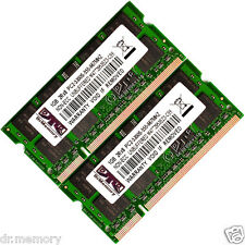 Kit Mémoire Ram 2 Go (2x1go) Ddr2 Pc2-5300 667mhz Portable (sodimm) 200 Broches