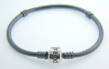 "AUTHENTIC PANDORA STERLING SILVER OXIDIZED BRACELET 8.3""  550702OX  NEW IN BOX"