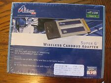 Airlink 101 Super G Wireless Lan PC Card AWLC4130 - NEW - SEALED