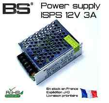 Industrial switching power supply ISPS 12V 3A alimentation industrielle PSU