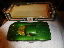 Vintage Riggen Pro-Am 1/32 Green Slot Car Brimhall w box,Torrance CA Porsche 324