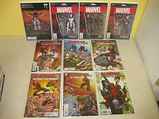 DEAPOOL & the MERCS FOR MONEY #1-5 - Complete - 10 VARIANTS - Action Fig RON LIM