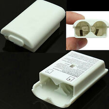 AA Battery Pack Back Cover Shell Case Kit For Xbox360 Controller White W87