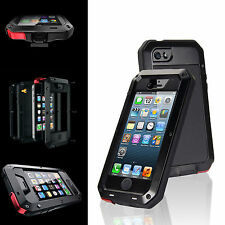 Waterproof Shockproof Gorilla Glass Metal Case for iPhone 5S 5C 4S 6S 7 7 Plus