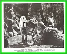 "MOVIE SCENE of JULES VERNE's ""Valley of the Dragons"" Original Vintage Photo 1961"