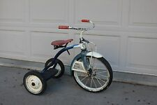 Vintage Antique Early 50's Tricycle Trike Sears Roebuck Happy Time Tippy Toy