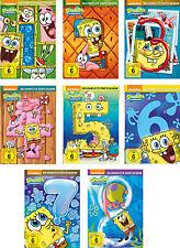 26 DVDs * SPONGEBOB SCHWAMMKOPF - SEASON 1 - 8 IM SET # NEU OVP =