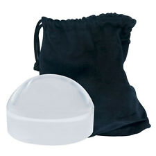 4X Bright Field Dome Magnifier - 4.5 Inches Super Bright Easy to See Low Vision
