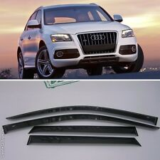 For Audi Q5 2009-2016 Window Visors Side Sun Rain Guard Vent Deflectors