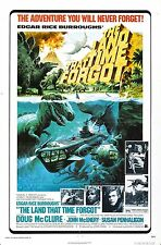 The Land That Time Forgot - Doug McClure - A4 Laminated Mini Poster