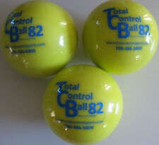 TOTAL CONTROL BALL TCB 82 Softball Weighted Training Hitting Batting Aid ~ 3 PK