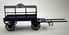 HORSE DRAWN COAL WAGON 95736 LASER CUT KIT OO MODEL RAILWAYS SUIT HORNBY ETC