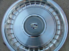 1980-87 Cadillac turbine style wheel covers, set (4), NOS! hub caps