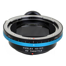 Fotodiox Pro ND Throttle, Variable ND Adapter - Hasseleblad V to Nikon F Camera
