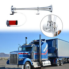 150DB Super Loud 12V Single Trumpet Air Horn Compressor Car Truck Lorry Boat NEW
