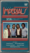 Imperials 20TH ANNIVERSARY CONCERT ~Rare 1985 VHS video