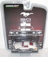 Greenlight Mustang 50 Years 1968 Ford Mustang GT 1:64 Die Cast Car Limited NIP