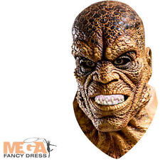Killer Croc Mask Mens Fancy Dress Villain Suicide Squad Adults Costume Accessory