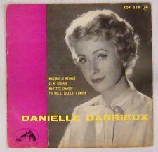 Danielle Darrieux 45 Tours 1958