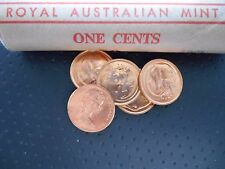 "1978 1c "" SUGAR GLIDER POSSUM "" One Cent Uncirculated EX Mint Roll VERY SCARCE"