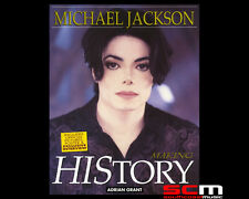 MICHAEL JACKSON MAKING HISTORY by Adrian Grant Illustrated Paperback Book NEW!