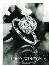 PUBLICITE ADVERTISING  2010   HARRY WINSTON  joaillier
