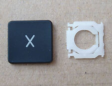 """New replacement letter X Key with Type A clip, Macbook Pro Unibody  13"""" 15"""" 17"""""""
