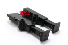 RC NISON Black Aluminum Support Legs Set For Tamiya 1/14 Tractor Trucks Trailer