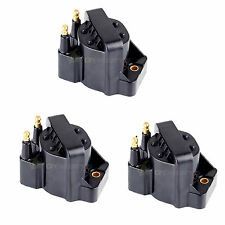 3 PCS Ignition Coil COILS Cassette Pack for Chevrolet Buick GMC V6 3.8l 3.4l