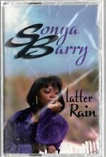LATTER RAIN by SONYA BARRY - Sealed Cassette (1999, Born Again Records)