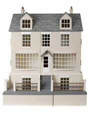 Antique Shop Dolls House &  Basement 1:12 Scale - Unpainted Dolls House Kits