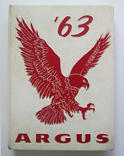 1963 Argus Yearbook Harry Ells High School Richmond California vintage Year Book