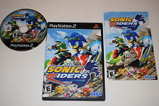 Sonic Riders Sony Playstation 2 PS2 Video Game Complete