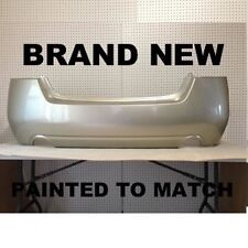 Fits; NEW 2010 2011 2012 Nissan AltimaSedan Rear Bumper Painted to Match (NI110
