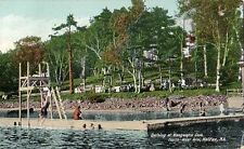 Waegwalric Club Bathing North West Arm Halifax Nova Scotia - Prelinen 1910 Good