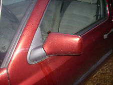 L/H DOOR MIRROR  VW GOLF MK3   1992 TO 1998 PEARL RED LC3T