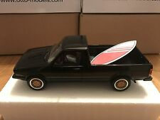 1:18 OTTO MOBILE VW VOLKSWAGEN CADDY BBS AND SURFBOARD BLACK OT665 OTTOMOBILE