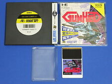 NEC PC-Engine Hu-Card GUNHED Import Japan