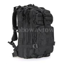 35L Military Tactical Backpack Rucksack Sport Bag Camping Travel Hiking Black