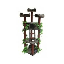 Cat Tree Tower Large Scratching Post Forest Pet Furniture Kitten House Bed New