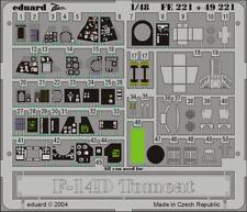 Eduard Zoom fe221 1/48 Grumman f-14d TOMCAT Hasegawa