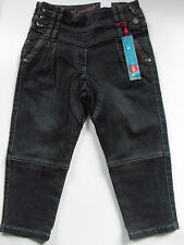 BNWT BOBOLI SPAIN GIRLS HAREEM STYLE CROPPED LUXURY JEANS PANTS 4 YEARS 104 CMS